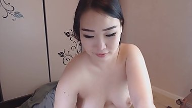 tatoo asian with a beautiful boobs