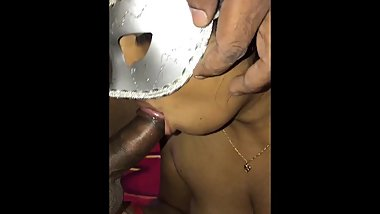 sri lankan wife sucking husband cock