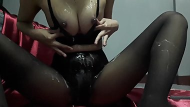 Cream on Wet Pussy & Body - Pantyhose 3 ???????? ??????? ?????? mlive