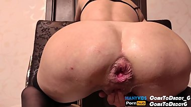 DIRTY ANAL FISTING ASIAN MILF (FULL VIDEO IN MY PROFILE )
