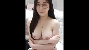 The best of Korean BJ girl ! Very beautiful live stream show super body !