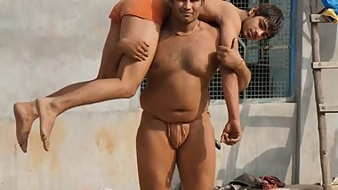 Kushti Wrestling? in India Morning Practice
