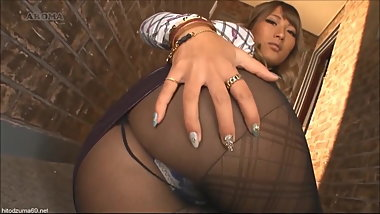 Asian Upskirt Pantyhose