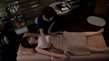 Asian Lesbian Massage Seduction 2