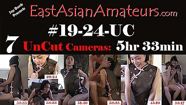 #19-24-UC 5.5 Hours!! SpicyGum June Liu ?? Chinese Asian Amateur Creampie
