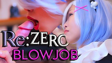 SpicyRice - [Re Zero] Rem Blowjob 4k TRAILER