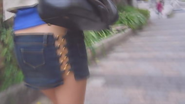 pantieless miniskirt no panties japanese