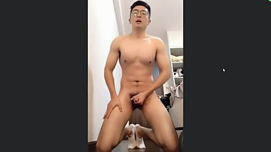 Chinese handsome straight men