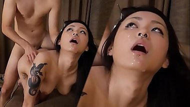 RaeLilBlack Young Asian Teen Pussy Extreme Rough Sex PREMIUM Destruction