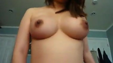 Cute chinese girl with gorgeous tits