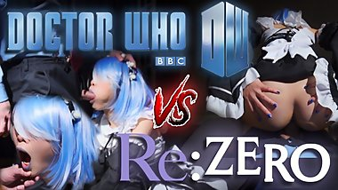 SPICY x RICE - The Doctor Who vs RE Zero Time Stop Porn YOU NEEDED 60fps