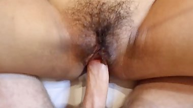 ASIANSEXDIARY Hairy Pussy Asian Licked And Stuffed