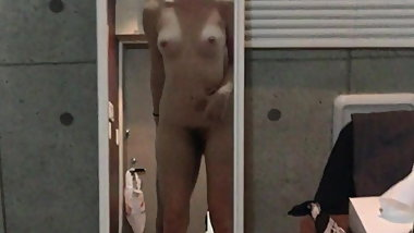 Asian Teen Chua Fucked in Mirror