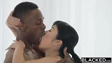 Japanese try BBC cock for the first time