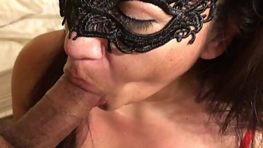 MILF Sucks Daddy's Cock Clean w/Lots of Tongue Action (Cheating Boyfriend)