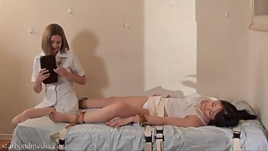 Therapy in the Asylum - Nyssa Nevers & Star Nine Imposed Orgasms FULL VIDEO