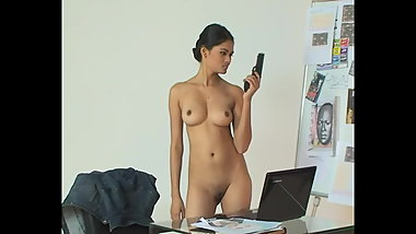 Ziva Galore - Naked In The Office