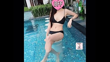 Thai mature swim suit fuck in bed ?????????????????
