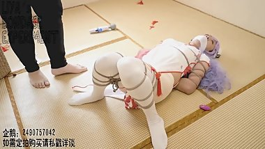 Azur Lane Unicorn Cosplay bondage